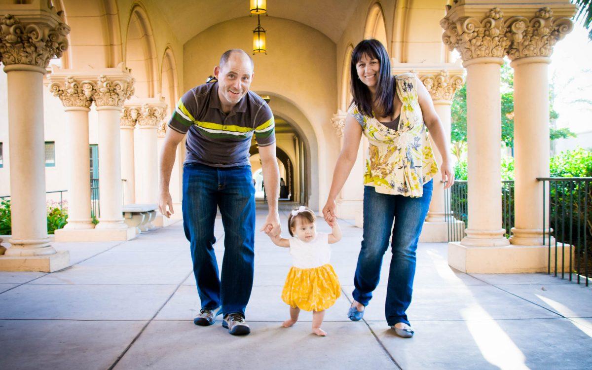 Family Photo Shoot at Balboa Park