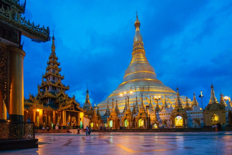 Shwedagon Pagoda Photography
