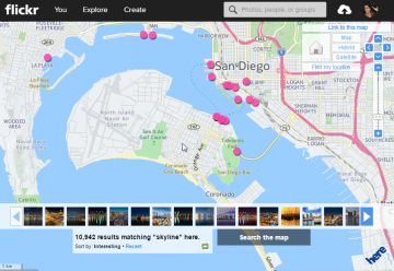 Flickr Map of San Diego