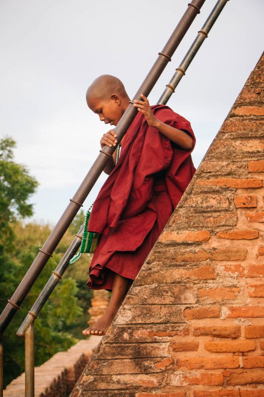 Young Myanmar Monk