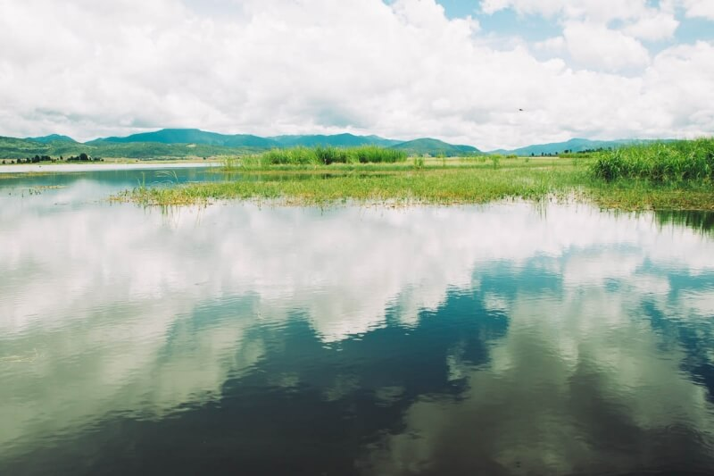 Inle Lake Reflections