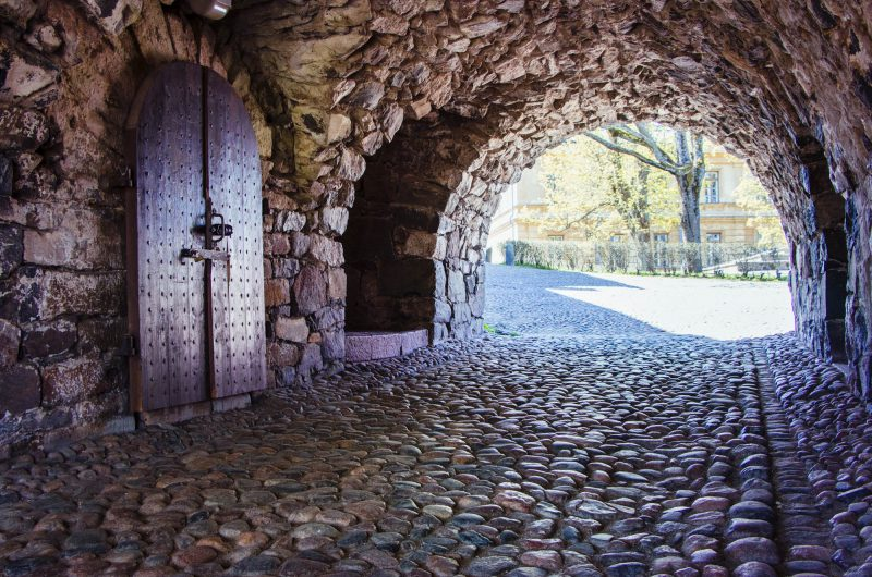 Tunnels on Suomenlinna