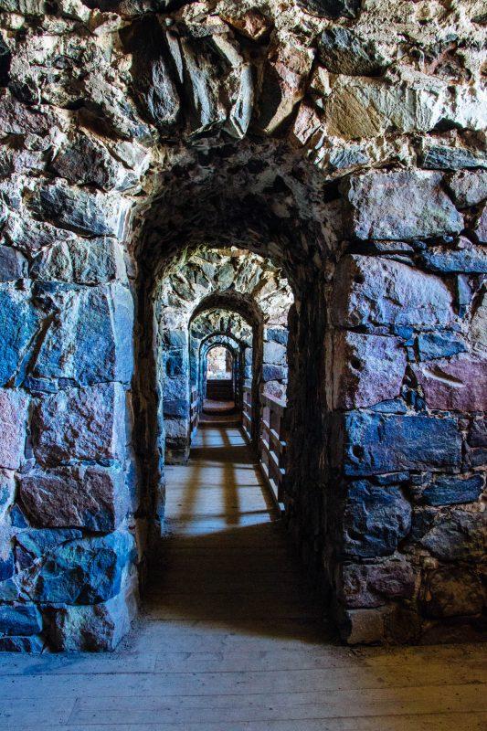 Suomenlinna Fortress Tunnels