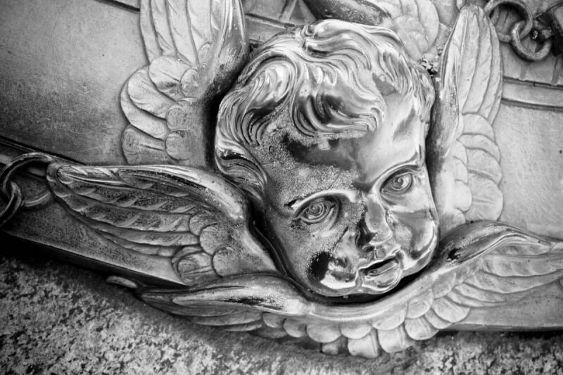 Detail from Ehrensvärd's tomb, Suomenlinna Island Fortress Photography