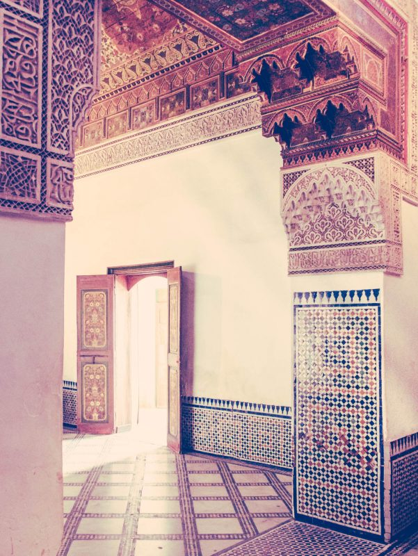 El Bahia Palace, Marrakesh, Morocco