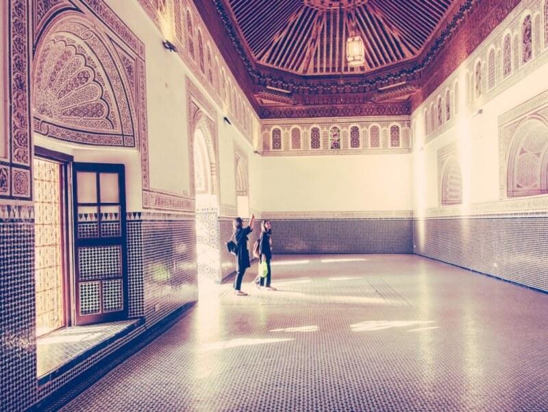 El Bahia Palace, Marrakesh, Morocco