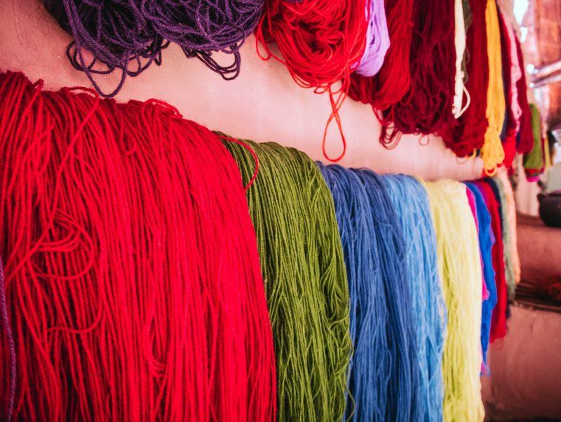 Mundo Alpaca colored yarns
