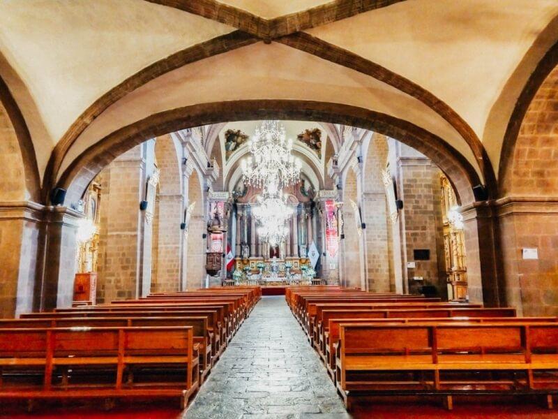 Church interior La Merced