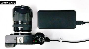 Panasonic GX85 usb charging
