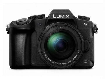 Lumix G85 Front View