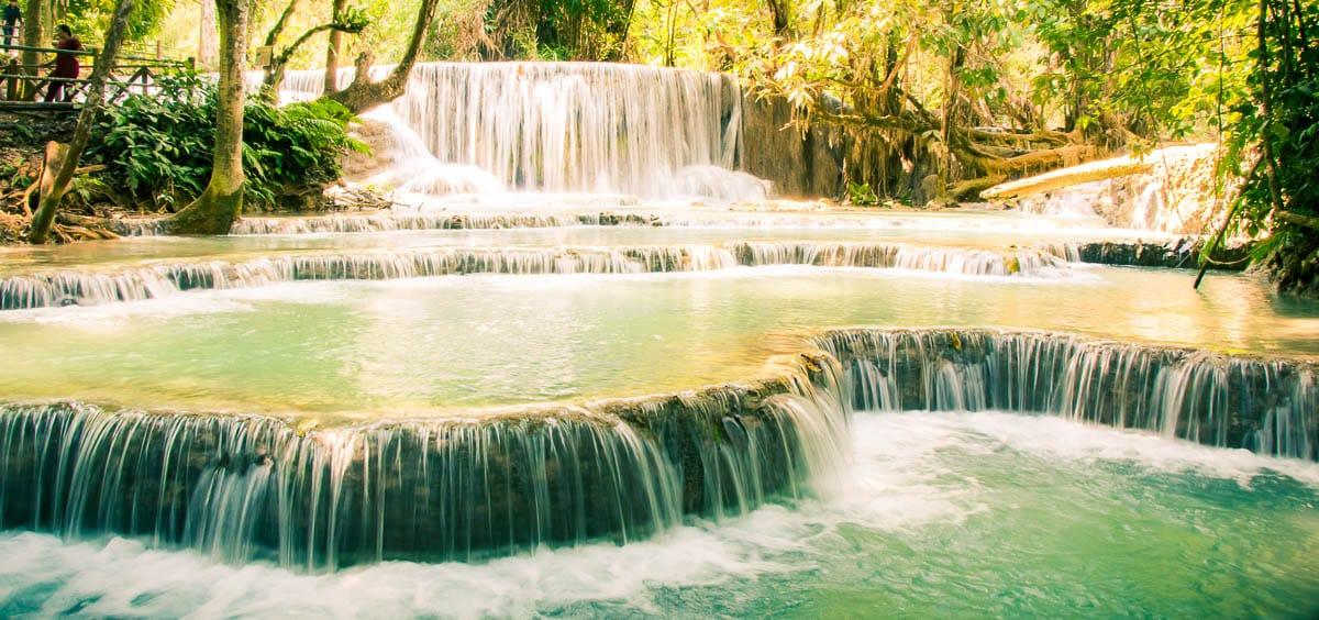 Luang Prabang Photography at Kuang Si Falls