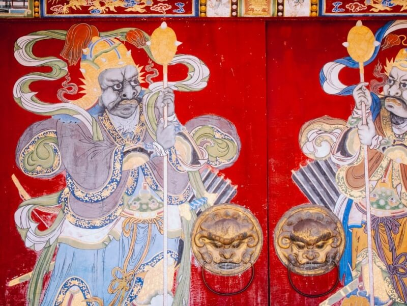 Temple Art in Mongolia