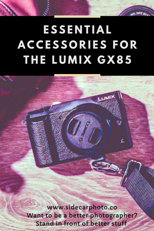 Accessories for the GX85 – Grip, Batteries and More