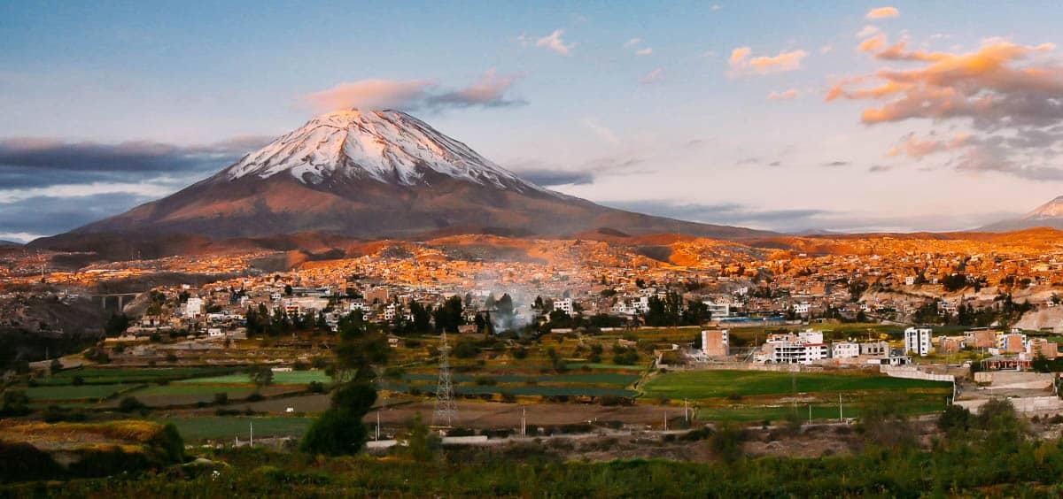 Volcan Misti in Arequipa