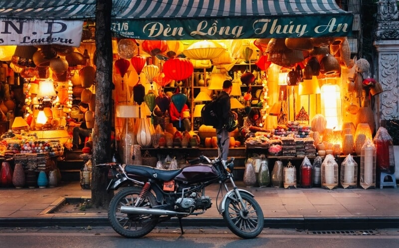 Hanoi Old Quarter Photography